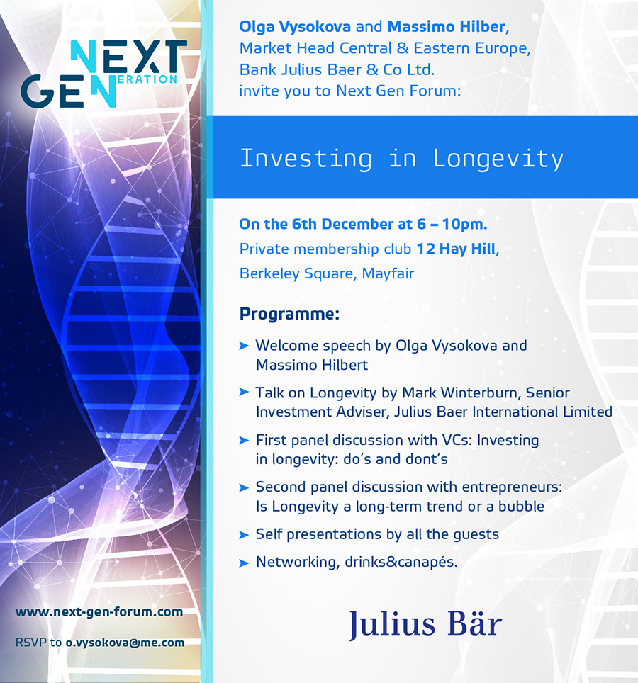 Next Gen: Investing in Longevity